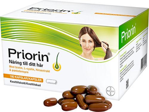 bästa kosttillskott hår